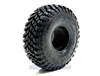 "Pit Bull RC 1.55"" Growler AT/Extra Scale R/C Tires Komp Kompound with Foam (2)"