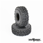 "Pit Bull RC 1.55"" Rock Beast Scale R/C Tires Alien Kompound with Foam (2)"