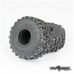 Pit Bull 1.9 Rock Beast XOR Scale R/C Tires Alien Kompound with Foam (2)