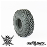 "Pit Bull RC 1.55"" Braven Berserker Scale R/C Tires Alien Kompound with Foam (2)"