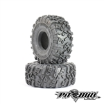 "Pit Bull RC 1.55"" Rock Beast XOR Scale R/C Tires Alien Kompound with Foam (2)"