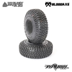 "Pit Bull RC 1.9"" Braven Bloodaxe Scale R/C Tires Alien Kompound with Foam (2)"