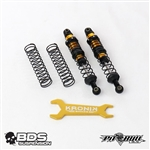 Pit Bull RC BDS KRONIK Shocks - 2 pcs (90mm Blue Dot)