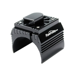 Powerhobby Aluminum Motor Heatsink with Cooling Fan for 1/8 Size Motors, Black