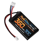 Powerhobby 360mAh 2S 7.4V 30C LiPo Battery for SCX24