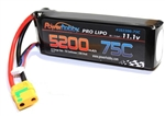 Powerhobby 5200mAh 3S 11.1V 75C LiPo Battery - XT90