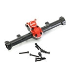 Powerhobby Aluminum Rear Axle Housing with Diff Cover for SCX24