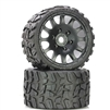 "Powerhobby Raptor BELTED Monster Truck Tires Pre-mounted on 3.8"" Wheels (2)"