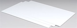 Plastruct White Sheet Styrene .060 (3)