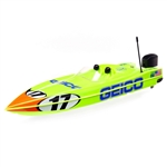 "Pro Boat Miss GEICO Power Boat Racer RTR 17"" Deep-V with SMART Charger and Battery"