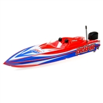 "Pro Boat Lucas Oil Power Boat Racer RTR 17"" Deep-V with SMART Charger and Battery"
