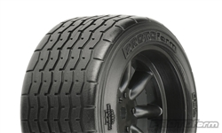 PROTOform VTA Rear Tires Black 31mm Mounted VTA Class (2)