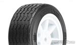 PROTOform VTA Front Tires White 26mm Mounted VTA Class (2)