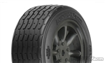 PROTOform VTA Front Tires Black 26mm Mounted VTA Class (2)