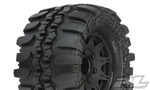 "Pro-Line Interco TSL SX Super Swamper 2.8"" All Terrain Tires Mounted on Raid Black Wheels (2)"