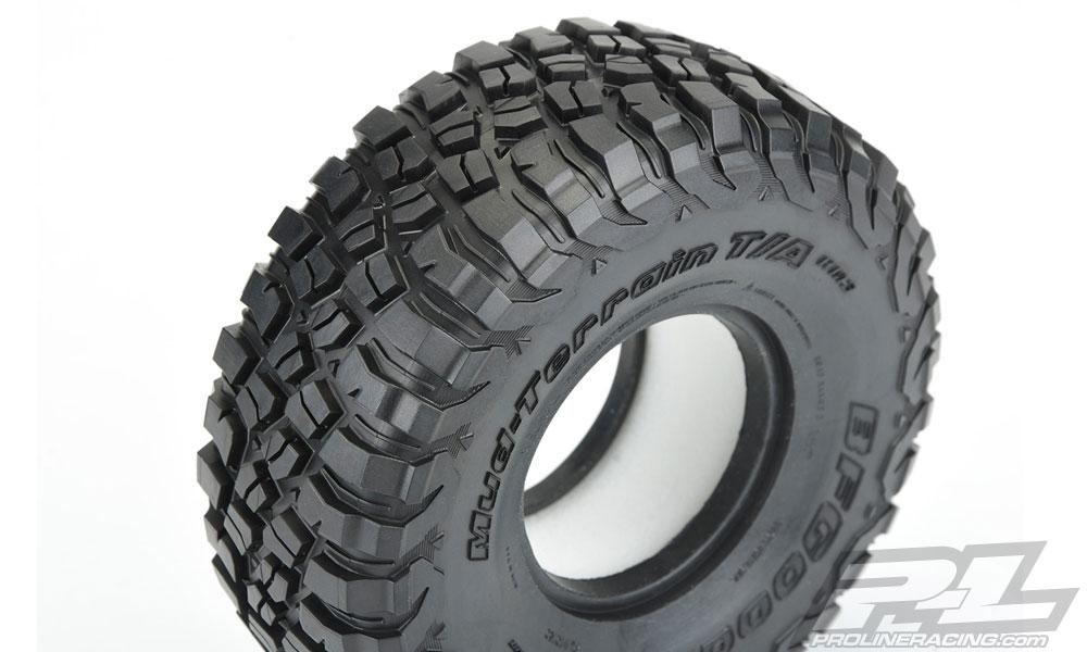 "Pro-Line BFGoodrich Mud-Terrain T/A KM3 1.9"" G8 Rock Terrain Tires (2)"