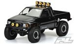 Pro-Line 1985 Toyota HiLux SR5 Clear Body (Cab & Bed) for SCX10 Trail Honcho 12.3 Wheelbase