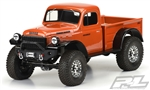"Pro-Line 1946 Dodge Power Wagon Clear Body for 12.3"" (313mm) WB"