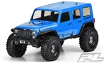 "Pro-Line Jeep Wrangler Unlimited Rubicon Clear Body for TRX-4 12.8"" Wheelbase"