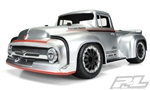 "Pro-Line 1956 Ford F-100 Pro-Touring Street Truck Clear Short Course Body (Requires 2.8"" wheels)"