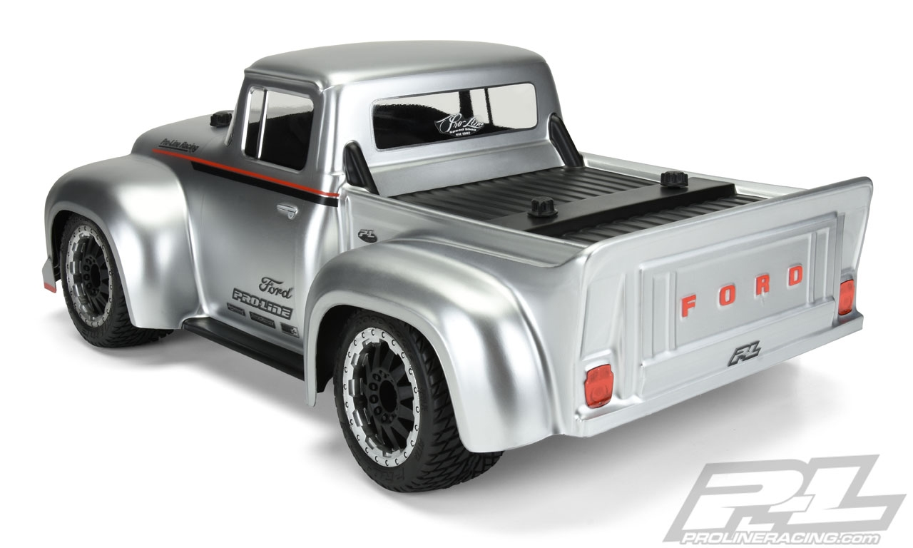 Pro-Line 1956 Ford F-100 Pro-Touring Street Truck Clear Short Course Body  (Requires 2 8