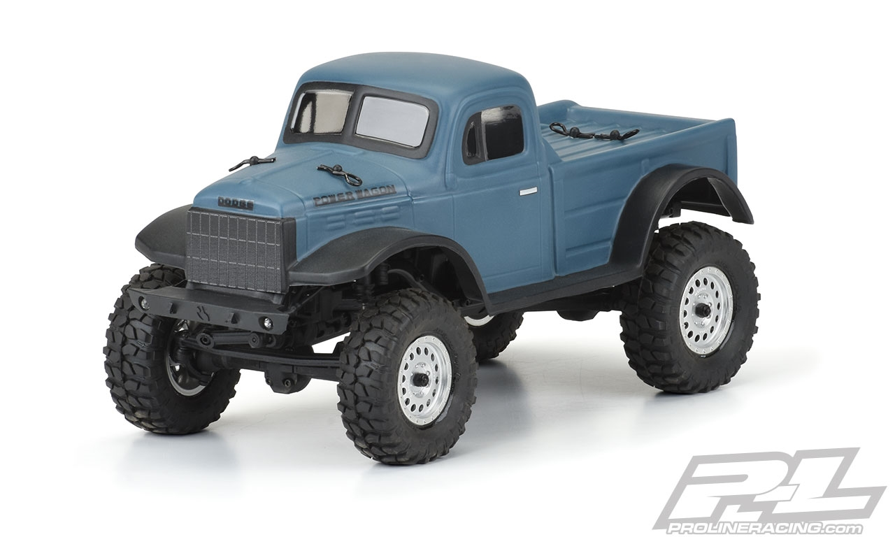Pro Line 1946 Dodge Power Wagon Clear Body For Scx24