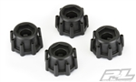 "Pro-Line 8x32 to 17mm Hex Adapters for 8x32 3.8"" Raid Wheels (4)"