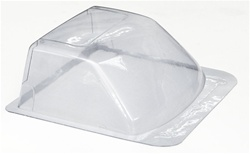 RC4WD Clear Lexan Windshield For Tamiya Hilux Or RC4WD Mojave Body