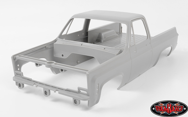 RC 4WD RC4WD Chevrolet Blazer Hood//Tailgate Hardware RC4Z-S1564