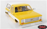 RC4WD Chevrolet Blazer Hard Body Set (Yellow)