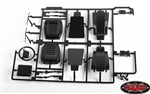 RC4WD 2015 Land Rover Defender D90 Front Seats and Dashboard Details