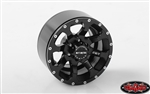 "RC4WD Mickey Thompson Metal Series MM-366 1.9"" Single Beadlock Wheel (1) Spare"