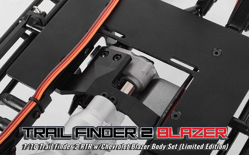 Rc4wd Trail Finder 2 Rtr Wchevrolet Blazer Body Set Limited Edition