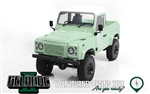 RC4WD Gelande II RTR with 2015 Land Rover Defender D90 Pick-Up Body (Heritage Edition)