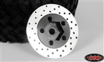 "RC4WD 1.9"" 5 Lug Steel Wheel Hex Hub with Brake Rotor (4)"
