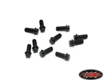 RC4WD Miniature Scale Hex Bolts (M2 x 5mm) (Black)