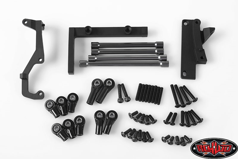 RC4WD Chassis Mounted Steering Servo Kit with Panhard Bar for Axial ...