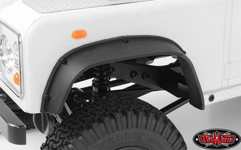 Tractor Trailer Fenders : Rc wd big boss fender flare set for d