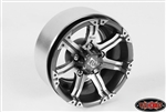 "RC4WD Dick Cepek Gun Metal 7 1.9"" Internal Beadlock Wheels (4)"