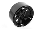"RC4WD 6 Lug Wagon 1.9"" Steel Stamped Beadlock Wheels (Black) (4)"