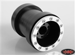 RC4WD Universal Monster Truck Beadlock Wheels V2 For Tamiya Clod Buster (Black Delrin)