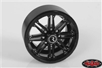 "RC4WD Raceline Octane 2.2"" Beadlock Wheels (Black) (4)"