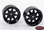 "RC4WD 6 Lug Wagon 2.2"" Steel Stamped Beadlock Wheels (Black) (4)"