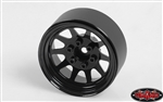 "RC4WD OEM Stamped Steel 1.9"" Beadlock Wheels (Black) (4)"