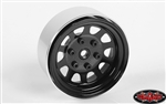 "RC4WD Stamped Steel 1.7"" Beadlock Wagon Wheels (Black) (4)"