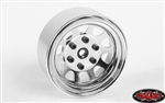 "RC4WD Stamped Steel 1.7"" Beadlock Wagon Wheels (Chrome) (4)"