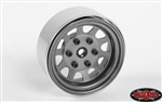 "RC4WD Stamped Steel 1.7"" Beadlock Wagon Wheels (Clear) (4)"