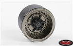 "RC4WD Black Rhino Armory Internal Beadlock Deep Dish 1.9"" Wheels (4)"