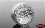 "RC4WD Dirty Life RoadKill 1.7"" Beadlock Wheels (Silver) (4)"
