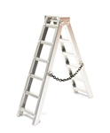 "Racers Edge 1/10 Scale Miniature Aluminum Step Ladder 4"" (100mm)"